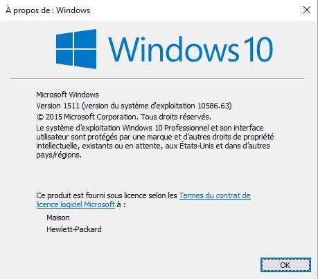 Bonjour, La mise à jour de fonctionnalité vers Windows 10, version 1803 a échoué 8 fois de suite. ... Dernier échec de la tentative d'installation le 15/ 05/ 2018 - 0x800f081e Encore merci pour votre aide. François Votre problème est-il résolu ? Oui Non ...