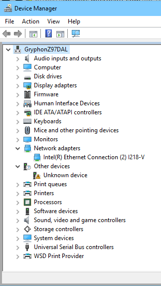 Ethernet Adapter Local Area Connection