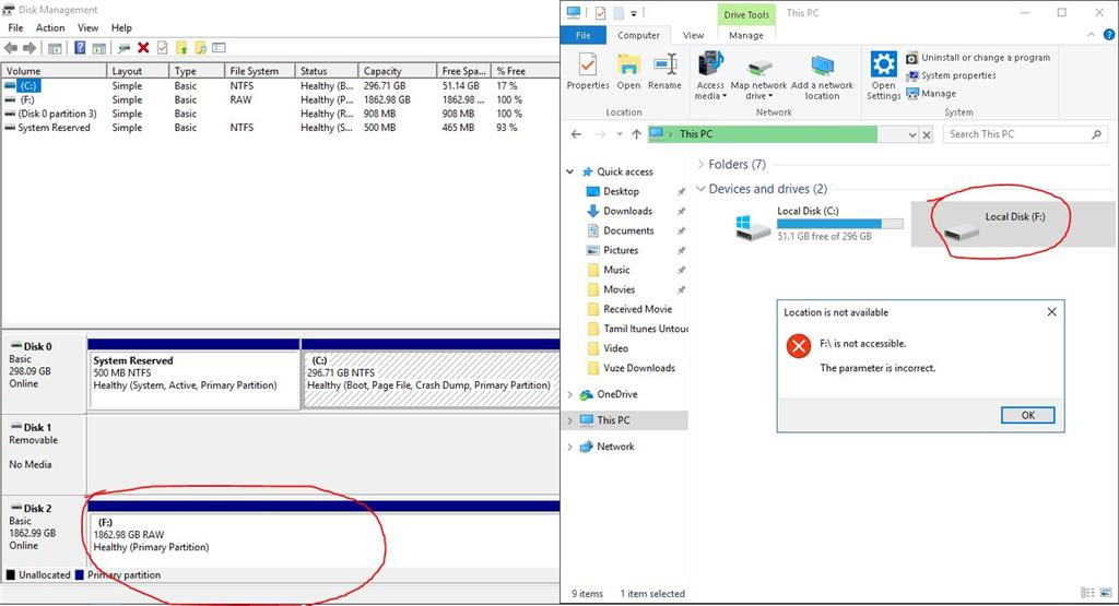 WD My Passport Ultra 2TB External Hard Disk not detected by