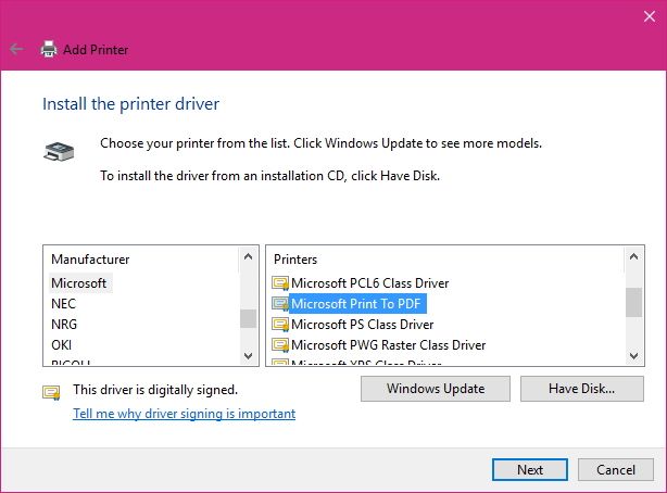 ubuntu how to add virtual printer for pdf files