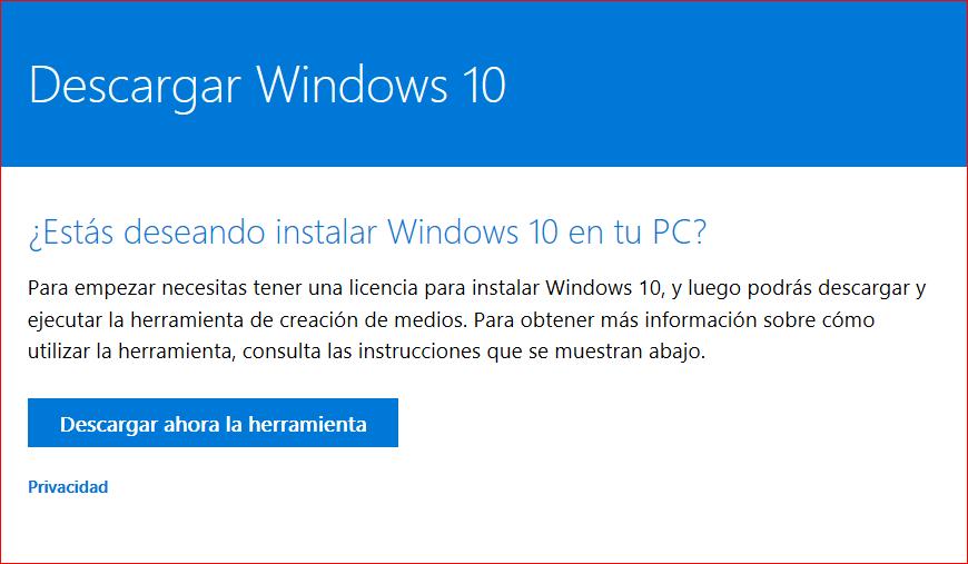 windows 10 home x64 descargar