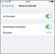 Geburtstagserinnerung Fur Die Mitteilungszentrale Fur Apple Iphone