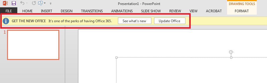 Turn off update notifications in Office 2013 - Microsoft Community