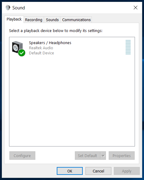 Disable headphone jack windows 10 - Microsoft Community