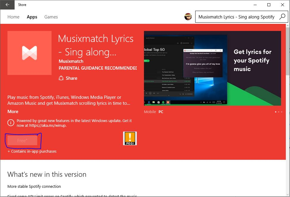 download musicmatch for pc