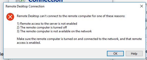 วินโดว์10 Home FPP ใช้Remote Desktopไม่ได้ - Microsoft Community