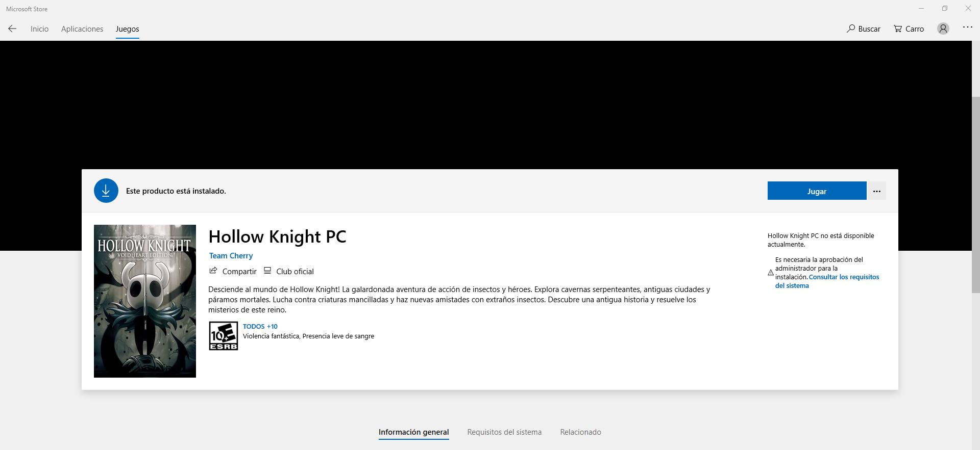 Error 0x803F8001 al abrir juegos ya instalados. [Mod Translation - when opening already... [IMG]