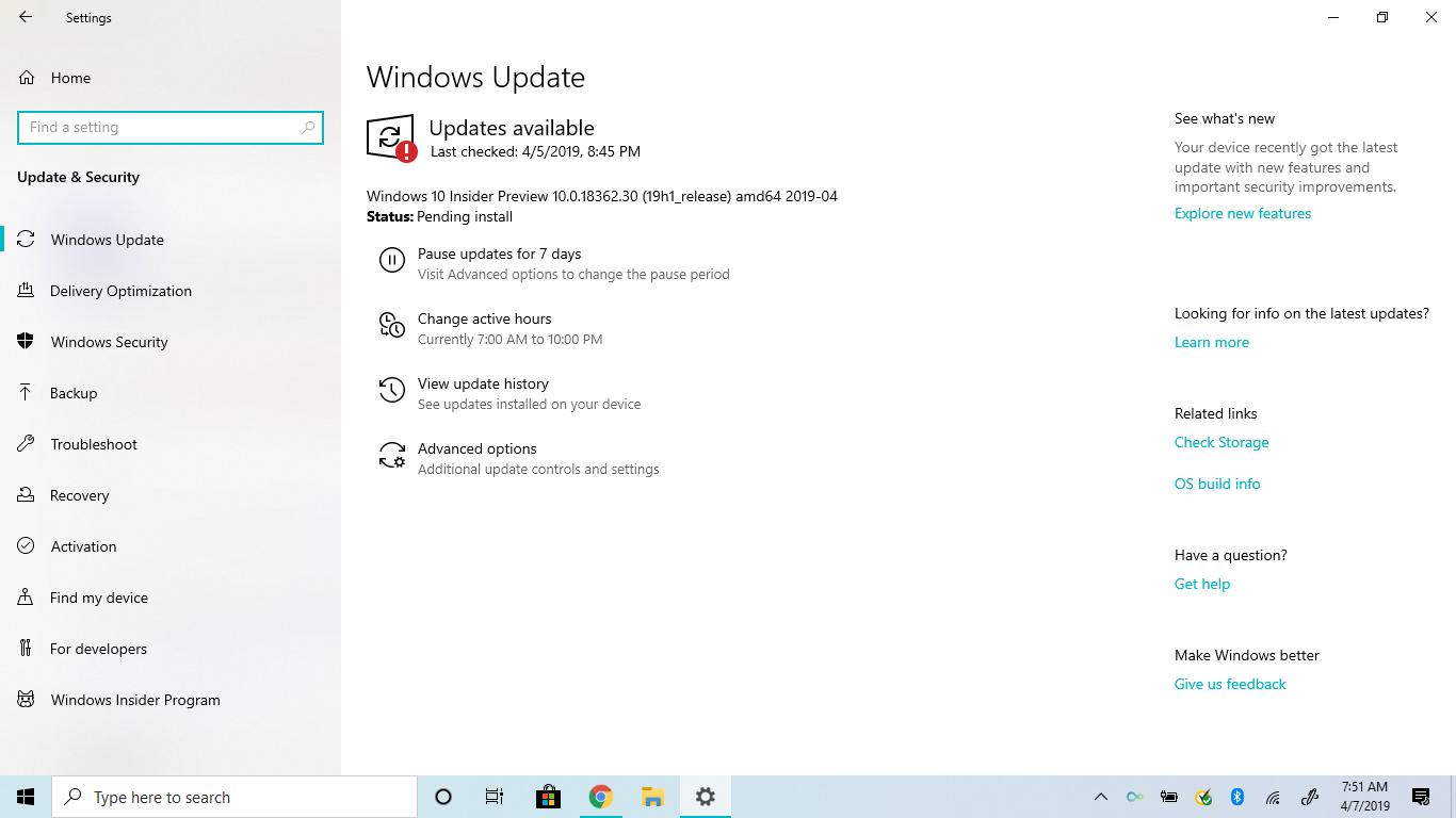 "Windows 14 - Windows Update ""Pending install"" issue - Microsoft"