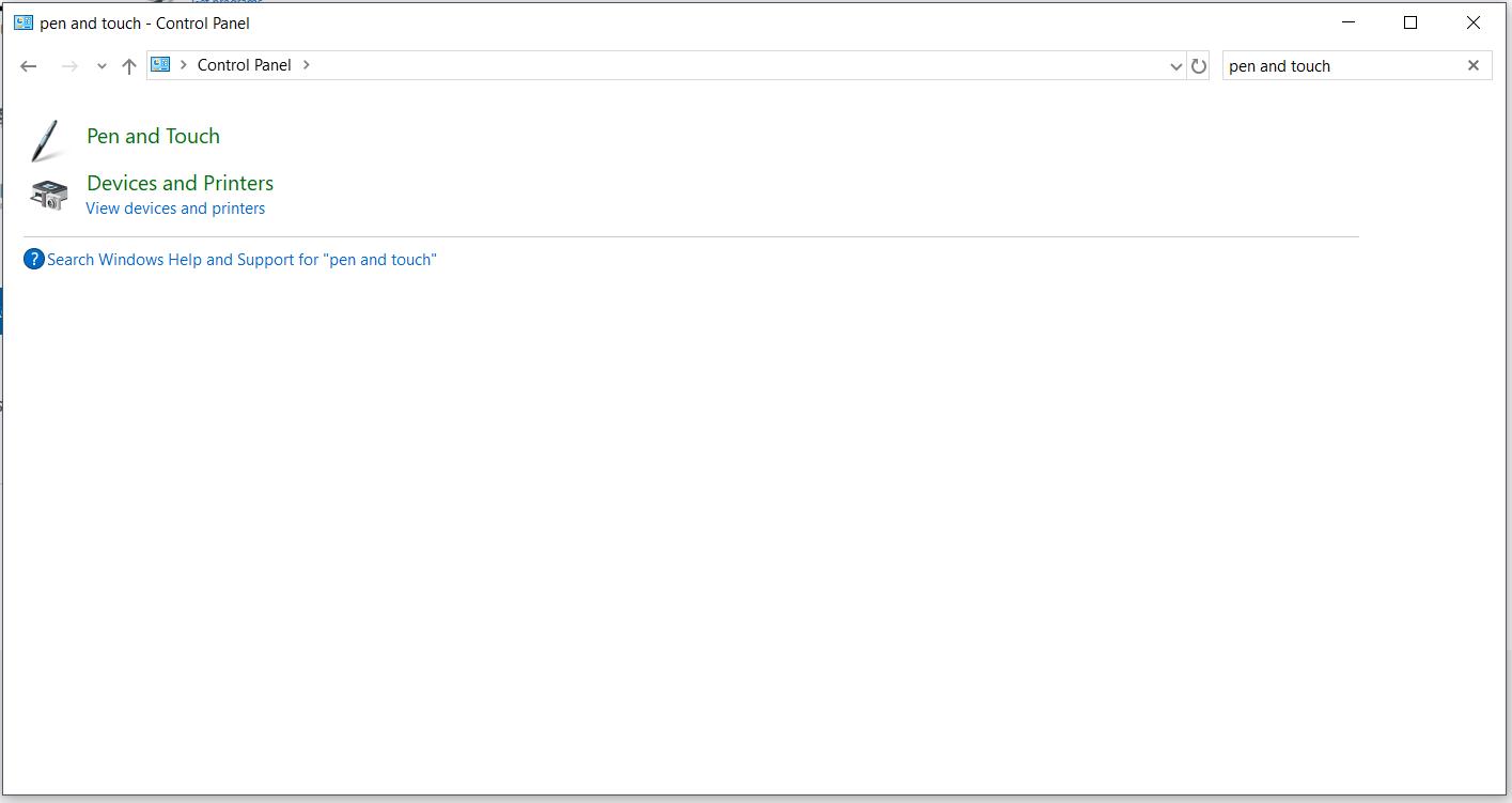 Pen \u0026 Windows Ink settings missing - Microsoft Community