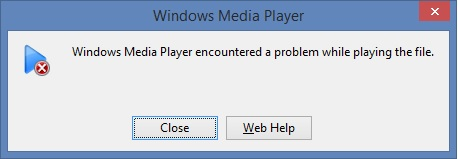 Image result for Windows Media Player Error C00D11B1