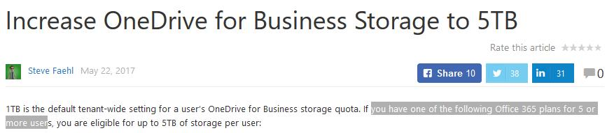 Can't adjust storage limits - Microsoft Community