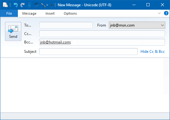 Create a template for mail messages - Microsoft Community