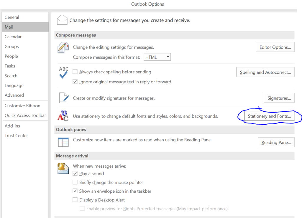 Outlook com email shows paperclip but no attachment can be