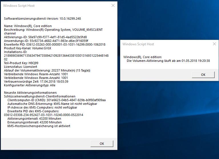 Windows 10 Lizenz abgelaufen nach gratis Aktivierung und Upgrade ?