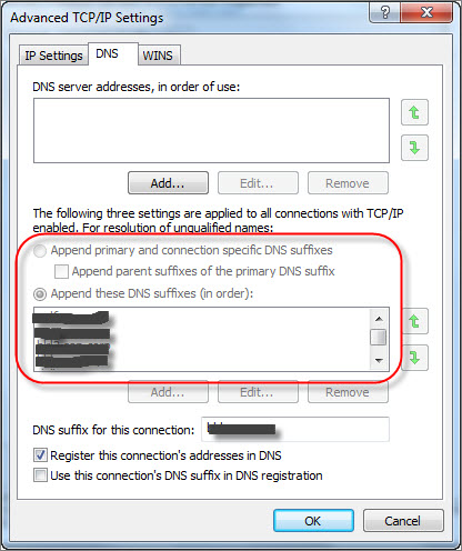 Unable to Change TCP IPv4 Protocol DNS Server Settings ...