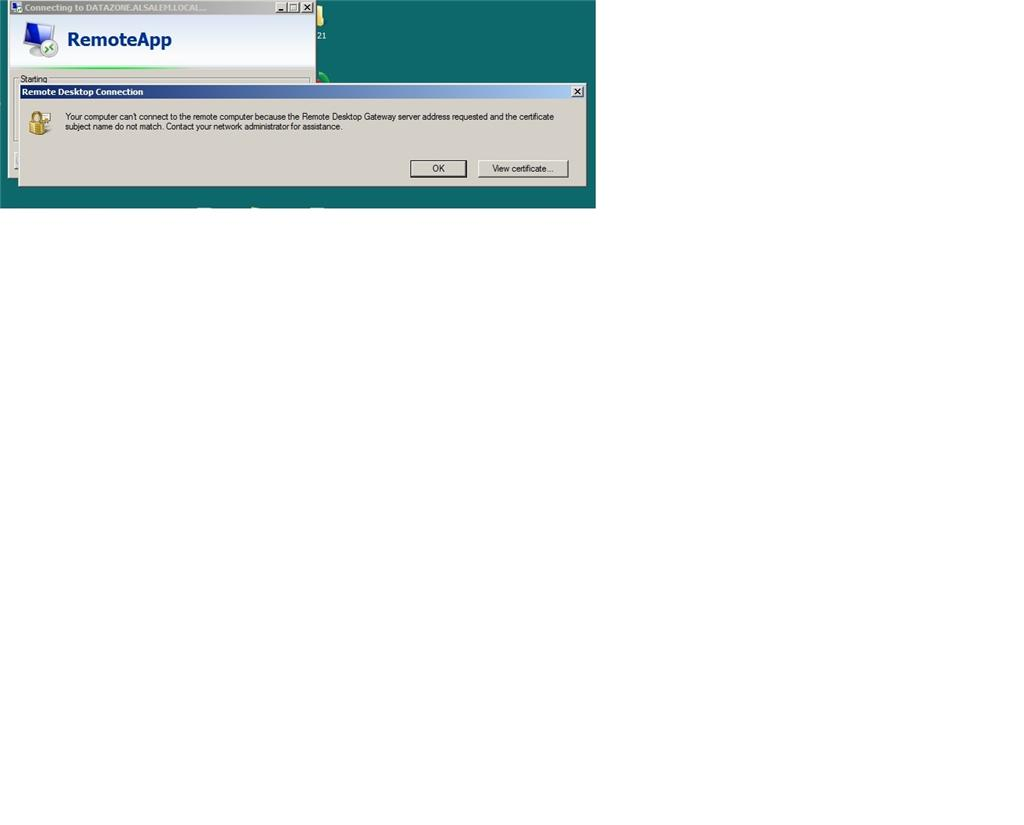 Remote Desktop Certificate Not Working In Windows 10 Microsoft