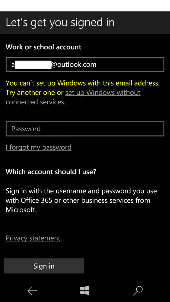 1 Microsoftmail At Abc Microsoft Com: Does The Outlook Mail App On Windows 10 Mobile Support New