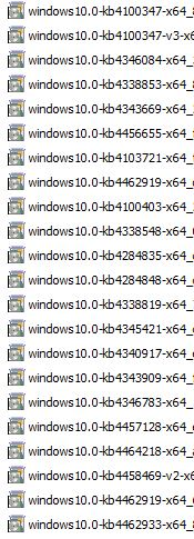 Manually update windows 2016 from 1607 to 1803