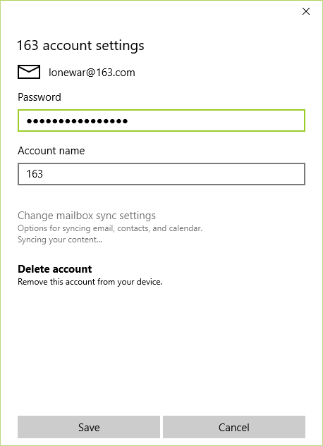 1 Microsof1 Microsofmail At Abc Microsoft Company: The Mail App In Windows 10 Not Showing Content For Some