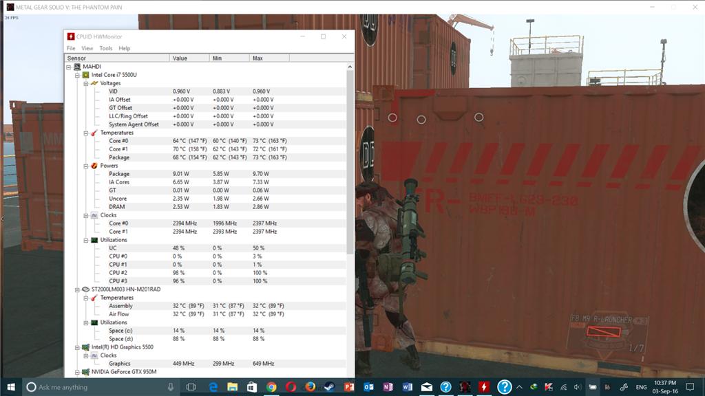 windows 10 overheating lead to FPS Drop - Microsoft Community