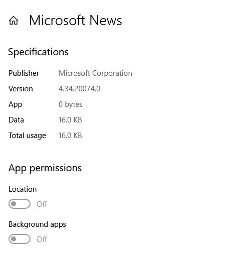 Live Tile Display Properties Microsoft Community