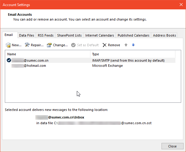 Default Email Address Settings in Outlook 2016 - Microsoft Community