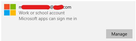 """No """"Remove"""" button for Microsoft account in Windows 10 - Microsoft Community"""