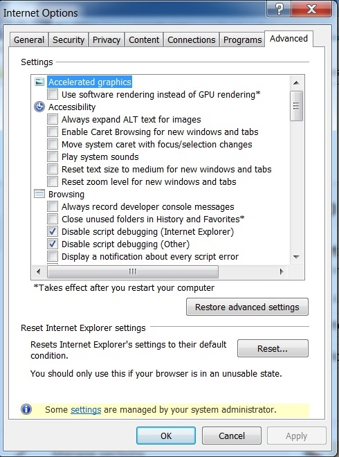 Outlook com is not responding due to long running script
