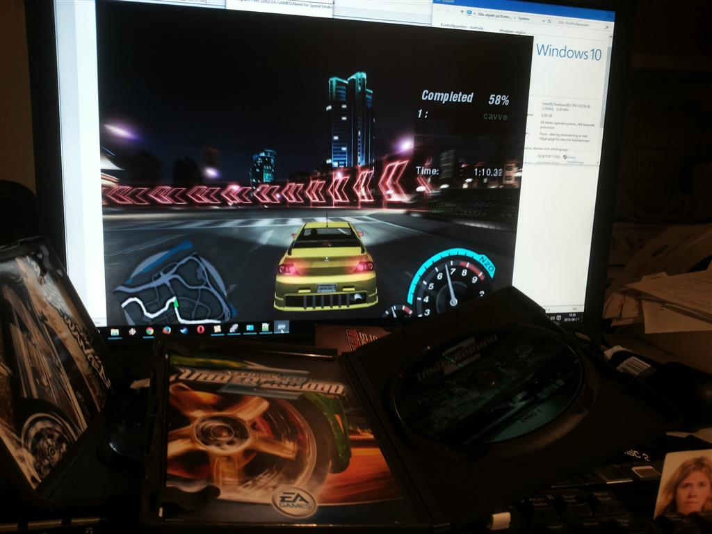 Need for speed undergroung 2 on Windows 10 - Microsoft Community