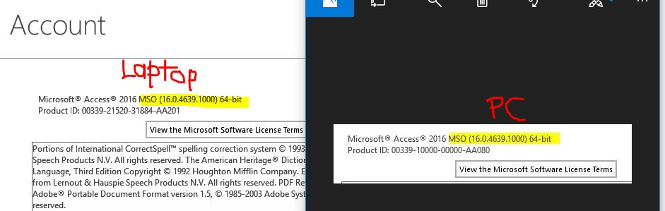 unable to open Access Database created on MS Office 64 bit