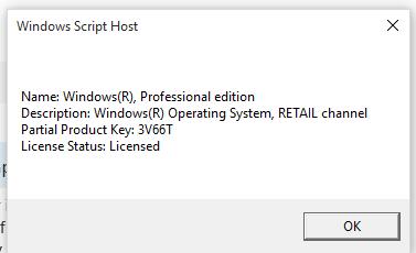is my windows 10 pro genuine