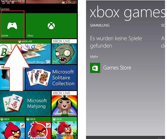 """App """"Spiele"""""""