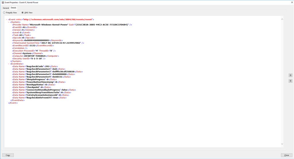 windows server 2012 whea uncorrectable error