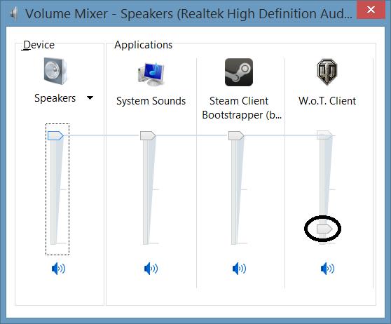 windows 8 1 randomly adjusts the application volume in the