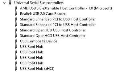 Realtek USB 2 0 Card Reader stops working and disappears from device