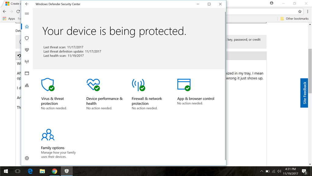 windows 10 security update keeps popping up