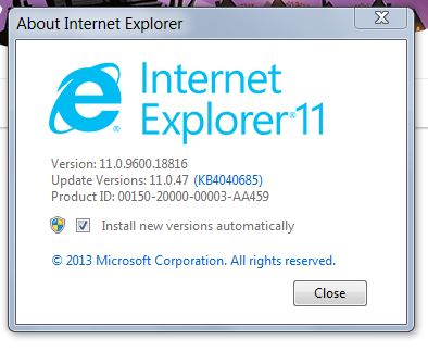 2 questions: how do I reinstall DEP for ie11, Error trying to
