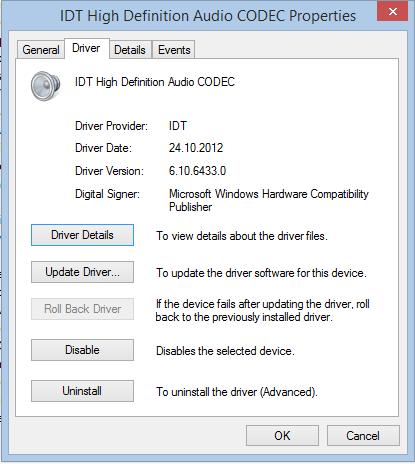 microsoft audio driver windows 10