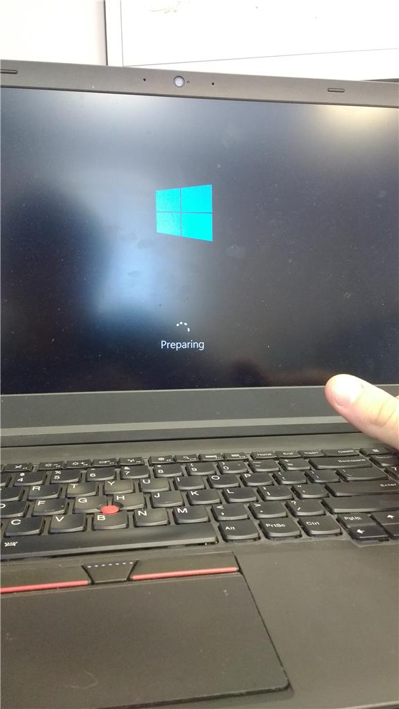 lenovo laptop reset failed