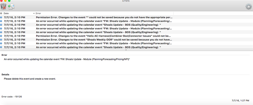 An error occurred while updating the calendar event outlook 2011 mom rules for dating my son