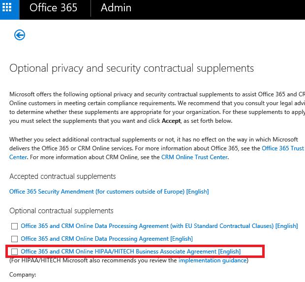 Where Can I Find Hipaa Baa Microsoft Community
