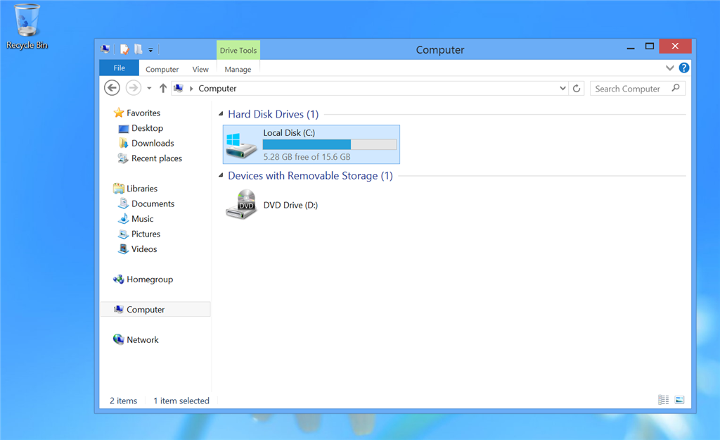 windows 10 how much storage do i have