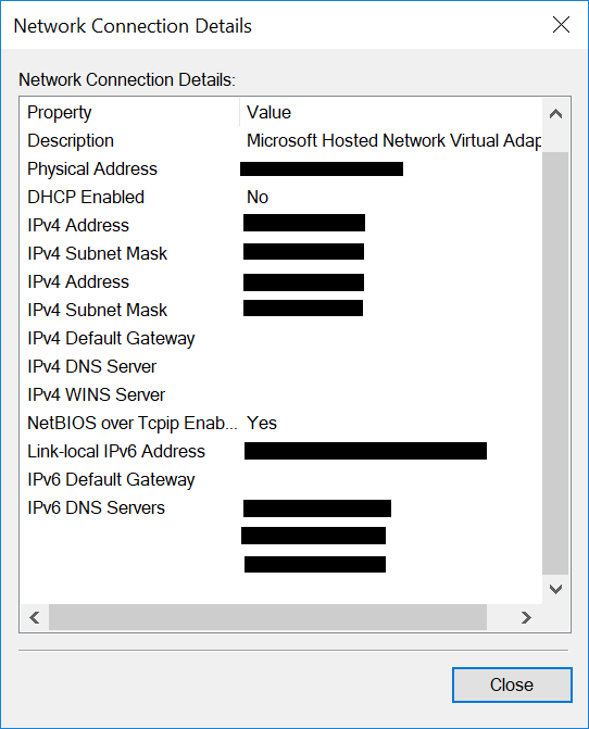 Internet Sharing configuration - Microsoft Community