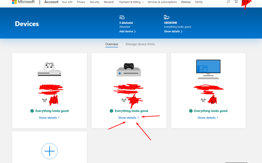 Parental reset code needed, not available in microsoft.com/devices [​IMG]