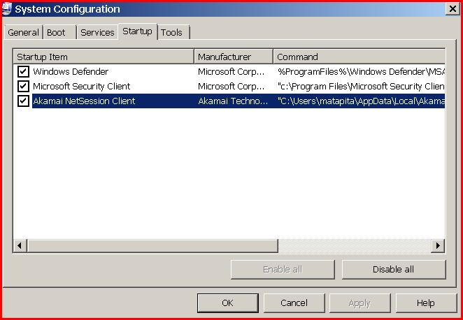 how to uninstall akamai netsession