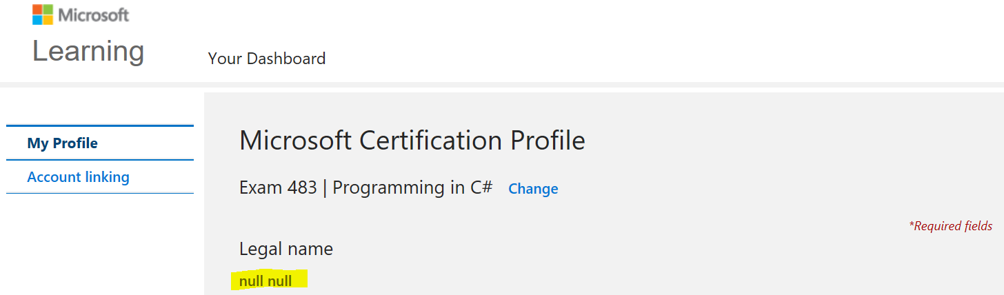 Legal Name Is Null Training Certification And Program Support