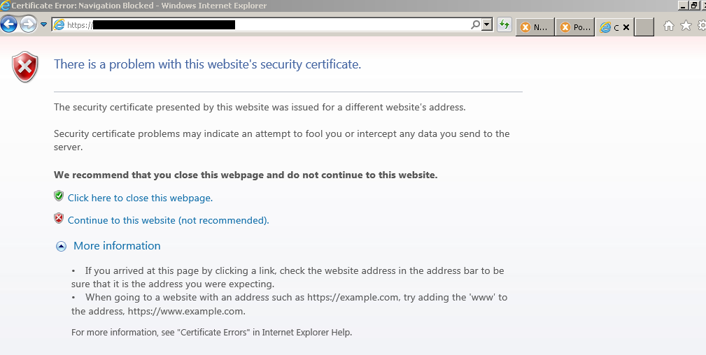 Internet Explorer 8910 How To View The Certificate For A