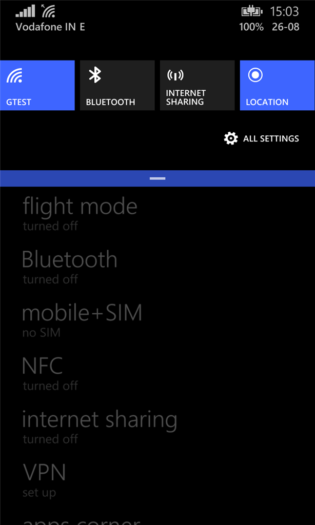 Possible bug in mobile+SIM Settings app in Windows Phone 8 1