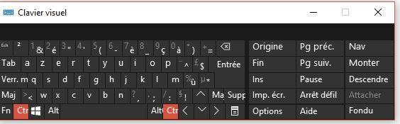 Problème avec Clavier Virtuel Microsoft Community