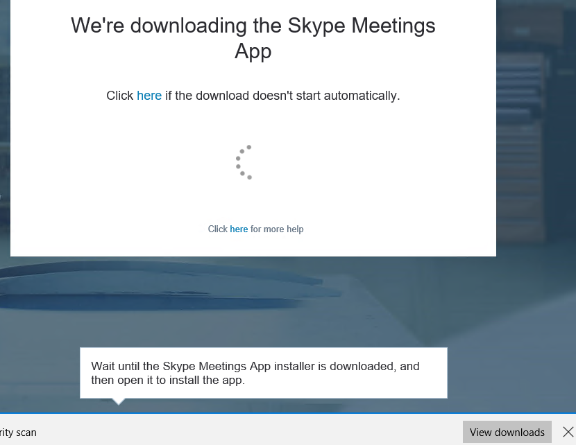 skype for business web app plug in download firefox